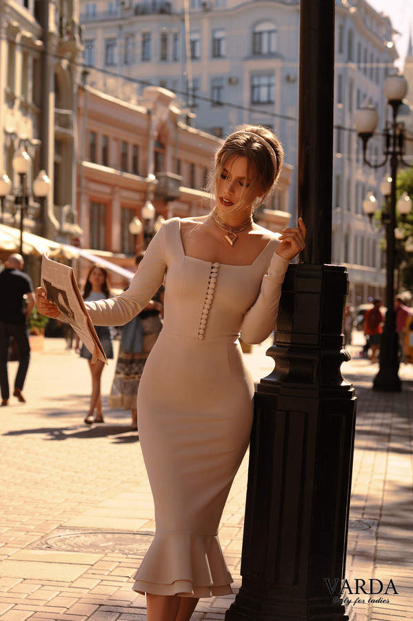 "Dress ""Bella"" beige"